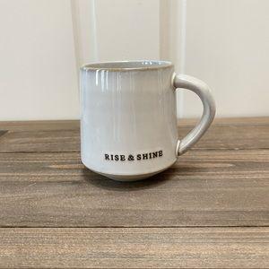 Hearth and Hand RISE & SHINE coffee mug